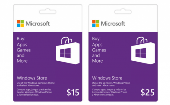 Buy Microsoft Windows Store Gift Card