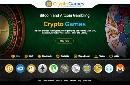 cryptocurrency gambling game