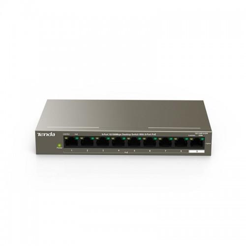 Tenda TEF1110P 8-Port 10-100 Mbps+2 Gigabit Desktop Switch