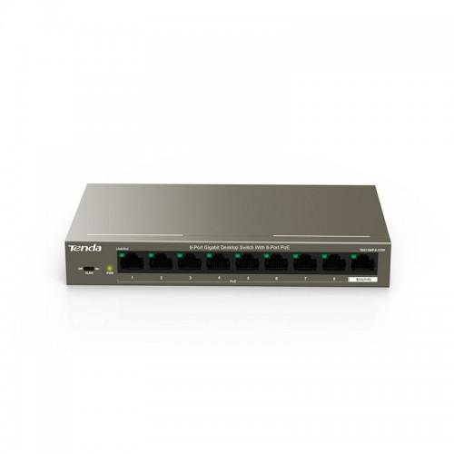 Tenda TEG1109P 8-Port PoE 10-100 Mbps Gigabit Desktop Switch
