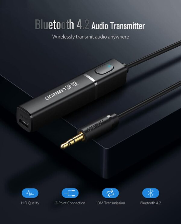 bluetooth-transmitter-connect-2-headphones-or-speakers-at-a-time-ugreen-cm10707Hz