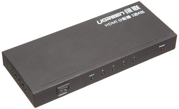 ugreen-1×4-hdmi-amplifier-splitter-black