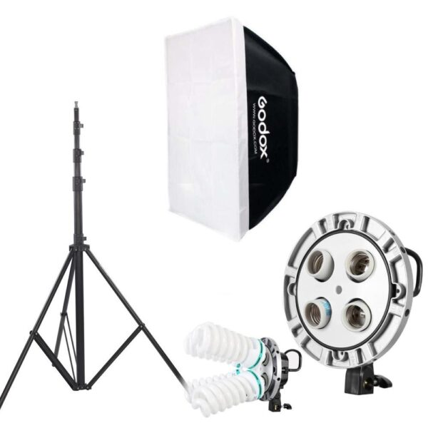 youtube-video-lighting-setup-softbox-light-holder-tripod-stand-and-power-cable